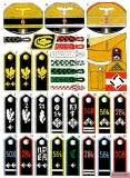 HJ Rank and Staff Badges.