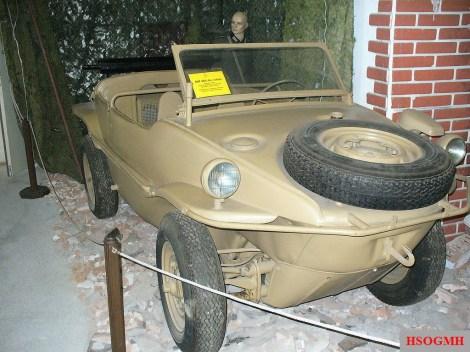 Type 166 Schwimmwagen at the Muzeum Dopravy Bratislava.