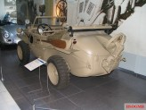 Type 166 Schwimmwagen rear view.