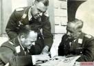 From left: Field Marshal Erhard Milch , Lieutenant General Hermann Plocher and Field Marshal Robert Ritter von Greim.