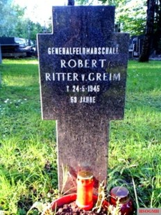Robert Ritter von Greim grave.