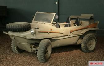 Schwimmwagen at the Imperial War Museum Duxford, United Kingdom.