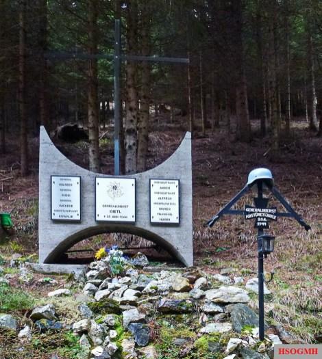General Eduard Dietl Airplane Crash Site Memorial.