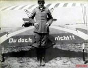 Ernst Udet in front of his Fokker D.VII.