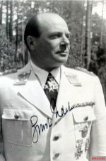 """Ernst Udet wearing the Knight of the Order """"Pour le Mérite"""" with the Knight's Cross of the Iron Cross."""