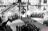 Memorial Day 10 March 1940, the state ceremony in the atrium of the armory.