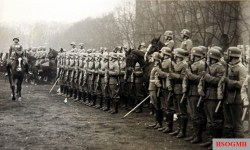 Parade in the Kriegsschule, Hannover on the occasion of the Heroes' Day, 1938.