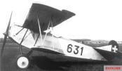 Swiss Fokker DVII flown by Udet in 1936.
