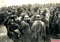 Greek prisoners at Kruscha on April 9, 1941.