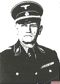 SS Standartenführer Friedemann Götze.