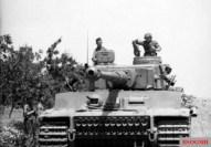 Tiger I of Hans-Jürgen von Arnim's 5th Panzer Army in Tunisia, late 1942.