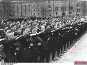 Members of the Leibstandarte SS Adolf Hitler, 1933.