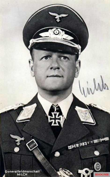 Erhard Milch as Field Marshal.