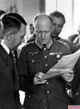 Adolf Hitler and Alfred Jodl.