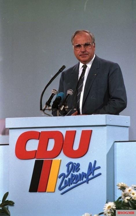 Helmut Kohl in 1986.