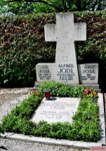 2018 - The grave of the Jodl family with the memorial stone for Generaloberst Alfred Jodl.