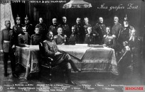 A composite image of Wilhelm II with German generals.