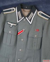 Example of the NCO Braid around the collar.