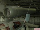 Argus As 014 of the V-1 flying bomb on display at the Royal Air Force Museum London.