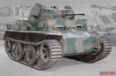 Panzer II Ausf. L Luchs in the Musée des Blindés, Saumur.