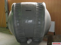The Kugelpanzer at the Kubinka Tank Museum, 2006.