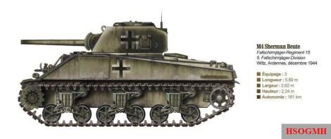 M4 Shermaan Beutepanzer.