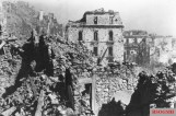The city of Cassino as it appeared in the weeks of the bloody battle.