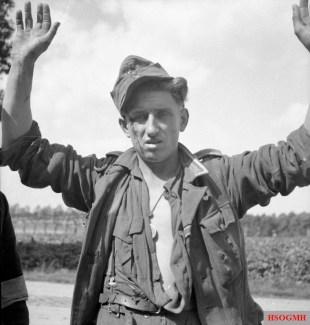 German POW captured in Belgium, 3 September 1944.