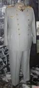 The original uniform of Reichsmarschall Hermann Göring shown in the Luftwaffenmuseum der Bundeswehr in Berlin.