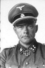 Werner Ostendorff as an Lieutenant Colonel.