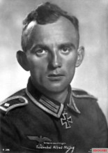 Feldwebel Alfred Müller.