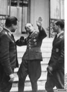 Joachim Seegert (left), Helmut Wick (centre), Erich Leie (right) on 6 October 1940.