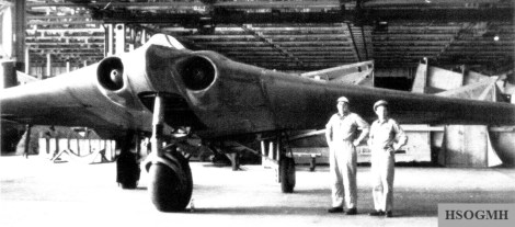 The completed Ho 229 V3 as loot in the USA, 1950. According to test results from 2014, it was at least three decades ahead of all other aircraft and would have given the allies major issues.