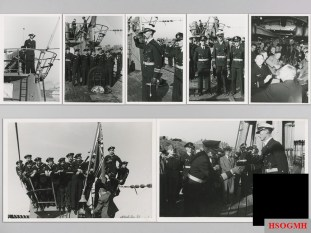 Knight's Cross Award Ceremony Photos of Korvettenkapitän Eitel-Friedrich Kentrat.