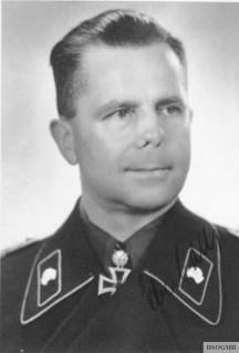 Eberbach in 1941 in a Panzer uniform.