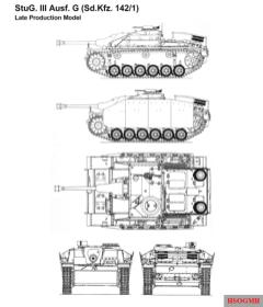 StuG III Ausf. G - Sd.Kfz. 142/1 - Late Prodution Model.