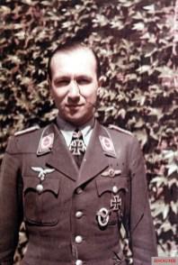 Oberst Heinrich Wittmer as a Major.