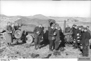 The Field-Kitchen that was in widespread use in the German army, here pictured in Denmark, May 1940.