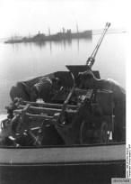 A Flak M43 on a single Flak LM 43 mount.
