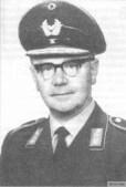 Karl Kessel in Bundeswehr General's uniform.