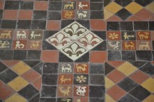 14th century floor tiles- Germany