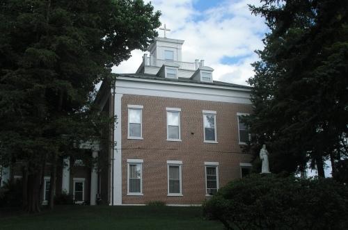 The Orrin Thompson House 1832 Historic Buildings Of