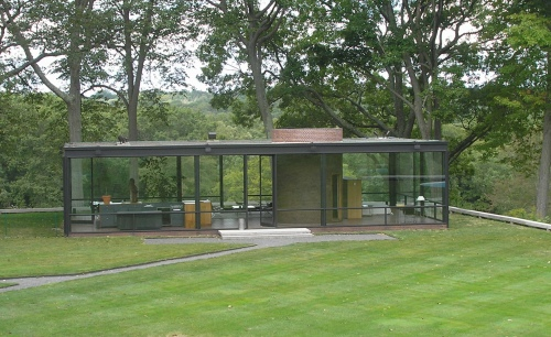 The Philip Johnson Glass House 1949 Historic Buildings Of