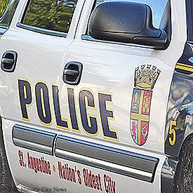 275-CITY POLICE CAR