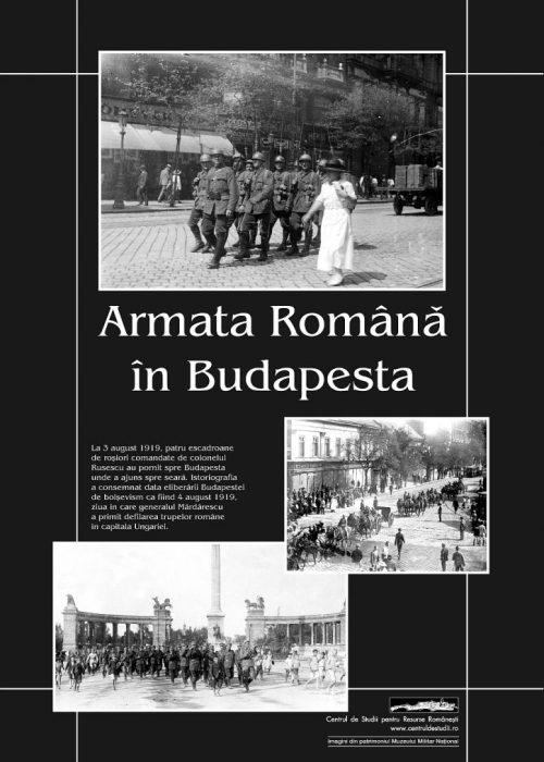 Armata Română la Budapesta