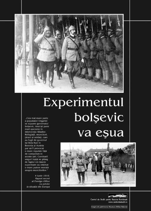 Experimentul bolşevic va eşua