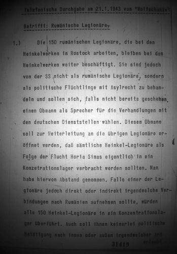 Hitler despre legionari pagina 1