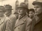 1944 - Nicolae Ceauşescu alături de Iosif Rangheţ şi Chivu Stoica în octombrie 1944