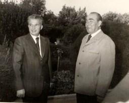1976 - Nicolae Ceauşescu şi Leonid Brejnev Fototeca online a comunismului românesc