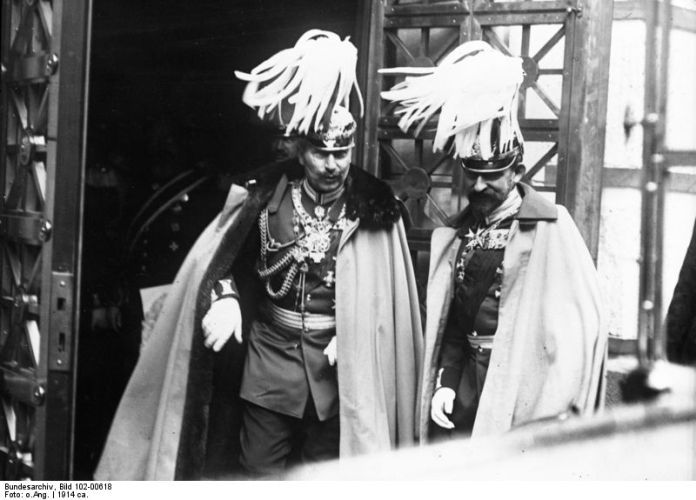 Imagini germane din România în Primul Război Mondial